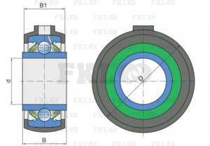 Подшипниковый узел GWR211PPB21 для GREAT PLAINS и KRAUSE