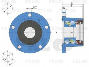 Ступица режущего узла IL50-98/4T-B30-F